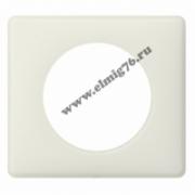 066701 Рамка 1 пост белая перкаль Celiane