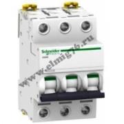 A9F74302 Выключатель автоматический трехполюсный  2А С iC60N 6кА