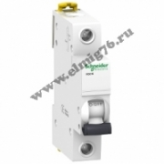 A9K24102 Выключатель автоматический однополюсный 2А iK60N 6kA Schneider Electric