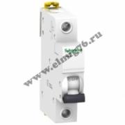 A9K24106 Выключатель автоматический однополюсный 6А iK60N 6kA Schneider Electric