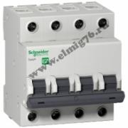 4P 32A C EZ9F34432 Schneider Electric EASY 9 Автоматический выключатель