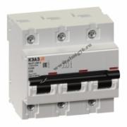 ВА47-100-3С100-УХЛ3 Выключатель автоматический трехполюсный 141630