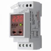 CP-721 Реле напр.,1ф,контроль верхнего (230-260), нижнего(150-210)знач.напр-я, рег.врем.откл.и повт. вкл.,30А 150-450В ЕВРОАВТ