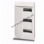 Щит распределительный встраиваемый ЩРв-П-36 IP40 пластиковый белый непрозрачная дверь EUROPA 1SL2048A00