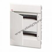 Щит распределительный встраиваемый ЩРв-П-24 IP40 пластиковый белый непрозрачная дверь EUROPA 1SL2045A00