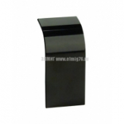 01009A Накладка на стык профиля 110х50мм черная DKC