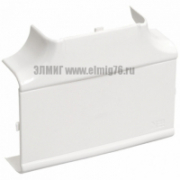 Т-угол цвет белый 100х60 для кабель-канала IEK Праймер CKK-40D-T-100-060-K01