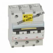 409280 Выключатель автоматический трехполюсный 80А C DX3 10кА/16кА
