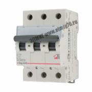 404053 Выключатель автоматический 3П  6А C TX3 6кА