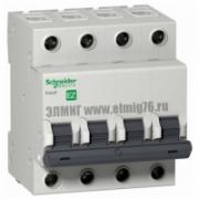 4P 25A C EZ9F34425 Schneider Electric EASY 9 Автоматический выключатель