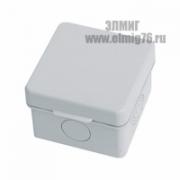 030-037 65х65х45 Коробка распределительная с крышкой IP54