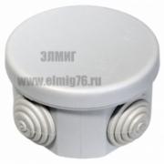40-0100 Коробка распределительная ОУ безгалогенная 65*40 (HF) IP55 Промрукав