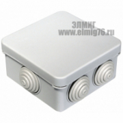 40-0210 Коробка расп.для открытой проводки 80х80х40 Промрукав
