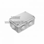 40-0340 Коробка распаячная ОП 120х80х50 безгалогенная (HF) IP55 (64шт/кор) Промрукав