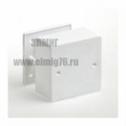 40-0460 Коробка распределительная ОУ д/кабель-канала 85х85х45 IP42