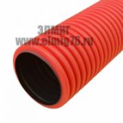 Труба для прокладки кабеля под землей красная D 40мм IEK CTG12-040-K04-050-R