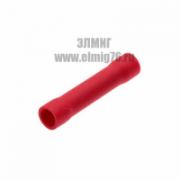 08-0718 Гильза соединительная термоусаживаемая (СГИ-т L-37мм) 0.5-1мм2 красный REXANT