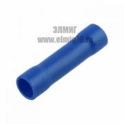 08-0724 Гильза соединительная термоусаживаемая (СГИ-т L-37мм) 1,5-2,5мм2 синий REXANT
