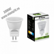 3Вт 4000К 220V G5.3 Лампа светодиодная FERON LED MR11 белый LB-271 6LED