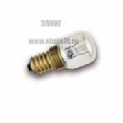 15Вт Е14 Лампа накаливания Favor латунь 230V для печей
