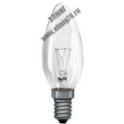 ДС-40 Е14 B35 60Вт 220В ASD прозрачная свеча