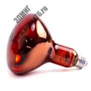 ИКЗК 150вт ЗК 230-150 E27 Лампа накаливания инфракрасная зеркальная красная