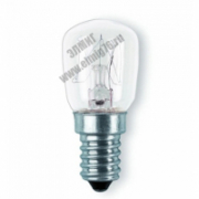 Лампа накаливания Camelion15W Е14 д/холодильников и шв.машин прозрачная