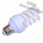 11Вт 4000K Е27 Лампа энергосберегающая  КЛЛ 11/840 Е27 D34х91 спираль