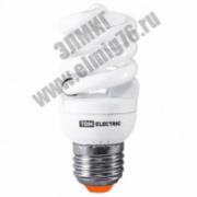 15Вт 4000К Е27 Лампа энергосберегающая TDM НАРОДНАЯ НЛ-FST2-15 Вт-4000 К-Е27 SQ0347-0009