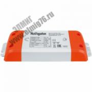 71460 Блок питания LED, 15w, 12v Navigator ND-P15-IP20-12V