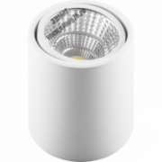 AL516 Feron светильник св/д накладной 10W 800Lm 4000К, 30гр белый поворотный
