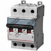 407292 Выключатель автоматический трехполюсный 20А C DX3-E 6кА