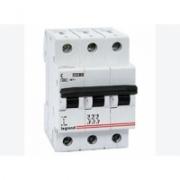407295 Выключатель автоматический трехполюсный 40А C DX3-E 6кА