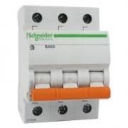 3Р ВА63 С 20А 4.5KA Автоматический выключатель Schneider Electric Domovoy 11224