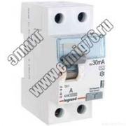 403000 Выключатель диф. тока 2П 25А 30мА TX3 АC (УЗО)
