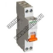 Диф. автомат AD63 K C 10A 1P+N 30MA 4500A AC RCCB WITH Schneider Electric Domovoy 12521