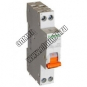 Диф. автомат AD63 K C 25A 1P+N 30MA 4500A AC RCCB WITHД Schneider Electric Domovoy 12524