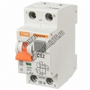 АВДТ 63 С32 30мА Диф.автомат TDM SQ0202-0005