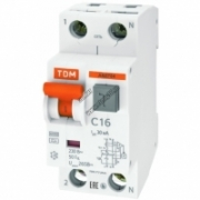 АВДТ 64 С16 30мА Диф.автомат TDM SQ0205-0004