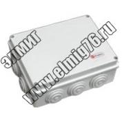 44004 JBR065 Коробка расп.c крышкой D 65х35 4 вых. IP44