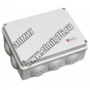 44006 JBS080 Коробка расп. 80х80х40 6 вых. IP55