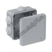 53810 Коробка ответвительная с гладкими стенками 100х100х50 мм IP56