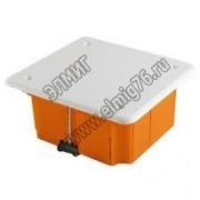 GE41001 44944 Коробка распаячная для скрытого монтажа 92х92х45мм, IP20