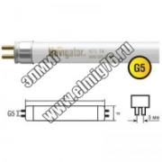 ЛЛ  8Вт Лампа люминесцентная Navigator 94101 NTL-T4-08-840-G5
