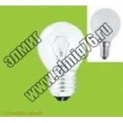 Лампа накаливания Navigator 94310 NI-C-40-230-E27-CL 40W E27 шарик прозрачн.