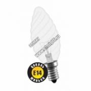 Лампа накаливания Navigator 94333 NI-TC-60-230-E14-CL свеча витая прозрач.