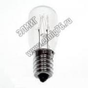 Лампа стандартная накаливания Camelion DP-704 BL-4 220V 7W Е14 для ночников, прозрачная