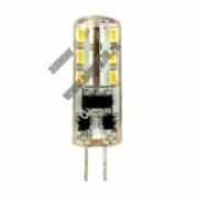3,0Вт 6500к 12V G4 Лампа светодиодная FERON LB-422 (дневной) капсула силикон