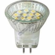 1Вт 4000К 220V G5.3 Лампа светодиодная FERON MR11 LED14 30х29mm LB-27