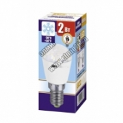 2,0Вт 4000К 220V Е14 Лампа светодиодная Jazzway 1007674 PLED-T26 FROST REFR для картин и холод. 150Lm